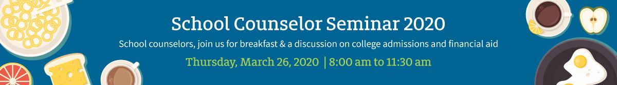 School Counselor Seminar 2020