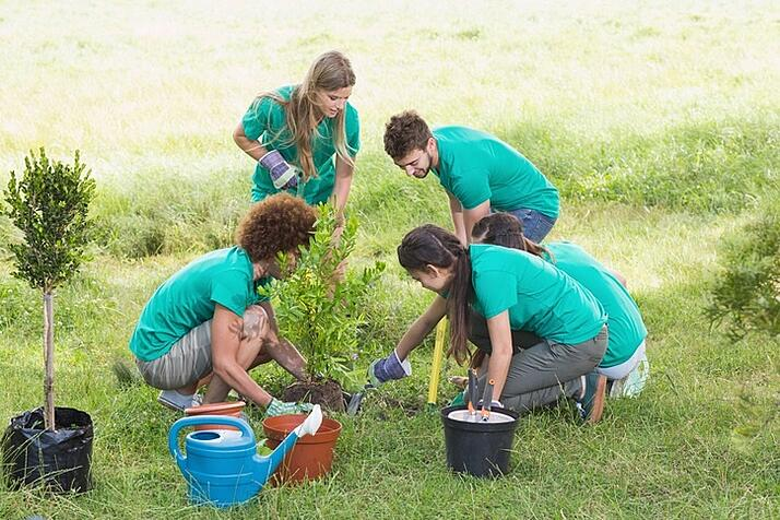 Volunteering shows you care about your community