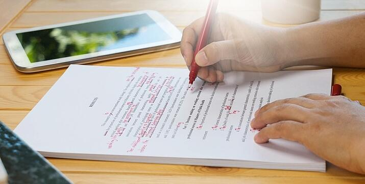 college essay tip - proofread and edit